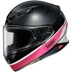 Black/White/Pink/Purple RF-1400 Nocturne TC-7 Helmet - 0101-1107-04