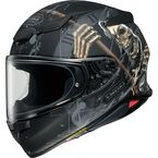 Matte Black/Multi-Colored RF-1400 Faust TC-5 Helmet - 0101-1405-06