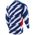 Blue/White/Red Caution SE Air Jersey - 302014134
