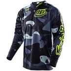 Black/Gray Cosmic Camo SE Jersey - 303012904