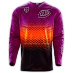 Black/Purple/Orange Starburst SE Jersey - 303013204