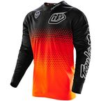 Fluorescent Orange/Black Starburst SE Jersey - 303013724