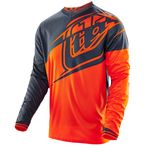 Youth Orange/Gray Flexion GP Jersey - 309015724