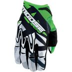 Green MX1 Gloves - 3330-3284
