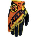Youth Orange/Yellow SX1 Gloves - 3332-0980