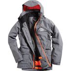 Heather Graphite Sanction Jacket - 15317-185-M