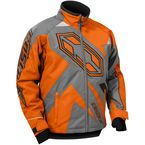 Boy's Orange/Gray Launch SE G3 Jacket - 72-4386