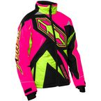 Girl's Hot Pink/Hi-Viz Launch SE G3 Jacket - 72-4736