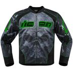 Green Overlord Reaver Jacket - 2820-3507