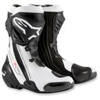 Black/White Supertech R Boots - 2220015-122-39