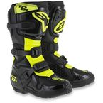 Youth Black/Yellow Tech 6S Boots - 201506-155-2