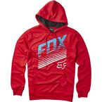 Red Downhall Hoody - 17320-003-L