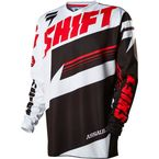 Youth Black/White Assault Jersey - 14599-018-XL