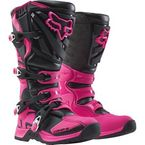 Black/Pink Womens Comp 5 Boots - 16450-285-10
