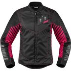 Women's Black/Pink Wireform Jacket - 2822-0831