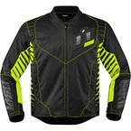 Black/Green Wireform Jacket - 2820-3595