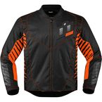 Black/Orange Wireform Jacket - 2820-3599