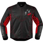 Black/Red Wireform Jacket - 2820-3605