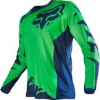 Fluorescent Green/Blue 180 Race Jersey - 14261-395-L