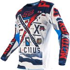 Blue/White 180 Vicious Jersey - 14372-025-L