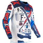Youth Blue/White 180 Vicious Jersey - 14972-025-L