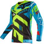 Blue/Yellow 360 Divizion Jersey - 14954-026-L