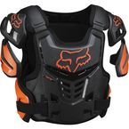 Orange Raptor CE Chest Deflector - 12351-009-L/XL