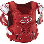 Red Raptor CE Chest Deflector - 12351-003-L/XL