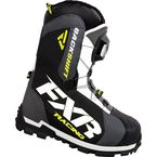 Charcoal/Hi-Vis Backshift Boa Boots - 16503