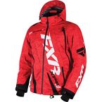 Red Digi/Black Digi Boost Jacket - 16006