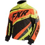 Black/Orange/Hi-Viz Cold Cross X Jacket - 16008