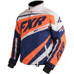 Navy/Orange/White Cold Cross X Jacket - 16008