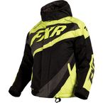 Youth Black/Hi-Viz/Charcoal Cold Cross Jacket - 16309.70110