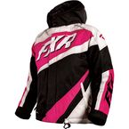 Youth Black/White Weave/Fuchsia Cold Cross Jacket - 16309