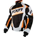 Black Digi/White/Orange Helix Jacket - 16011