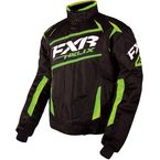 Black/Electric Lime Helix Jacket - 16011