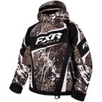 Youth Charcoal/White Blast Helix Jacket - 16305