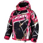 Youth Realtree Xtra APBlack/AP Fuchsia Helix Jacket - 16305