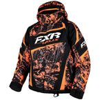 Youth Orange/Charcoal/Black Blast Helix Jacket - 16305