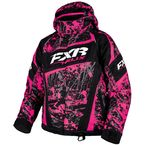 Youth Fuchsia/Charcoal/Black Blast Helix Jacket - 16305