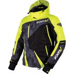 Hi-Vis/Charcoal Print/Black Mission X Jacket - 16005