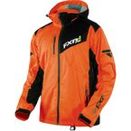 Orange/Charcoal Recoil Lite Trilaminate Jacket - 15135