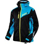 Black/Blue/Hi-Vis Recoil Lite Trilaminate Jacket - 15135