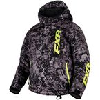 Youth Charcoal Blast/Hi-Vis Squadron Jacket - 16301