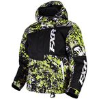 Youth Electric Lime/Hi-Vis Squadron Jacket - 16301