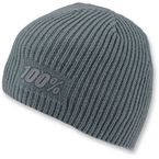 Heather Gray Raw Beanie - 20111-007-01