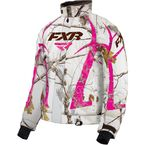 Women's Realtree APHD Snow/Fuchsia Team Jacket - 16206.03312