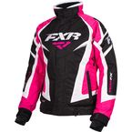 Women's Black/Fuchsia/Whit Team Jacket - 16206