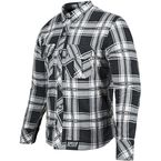 Black/Grey Rust and Redemption Armored Moto Shirt - 878982
