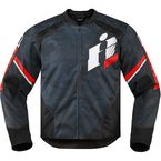 Black/Red Overlord Primary Jacket - 2820-3649